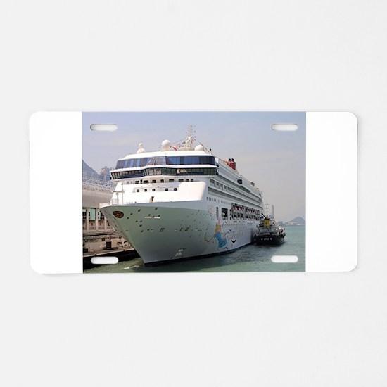 Superstar Virgo cruise ship Aluminum License Plate