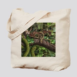 Wood Dragon Tote Bag
