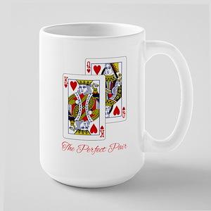The Perfect Pair KQ Large Mug