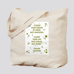 COUNT YOUR LIFE... Tote Bag