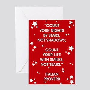COUNT YOUR LIFE... Greeting Cards