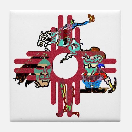 New Mexico - Tile Coaster