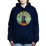 MP-IRISES-Cairn-BR17 Women's Hooded Sweatshirt