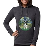 MP-BRIDGE-Catahoula1 Womens Hooded Shirt