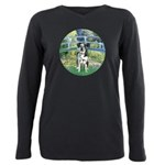 MP-BRIDGE-Catahoula1 Plus Size Long Sleeve Tee