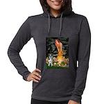 MIDEVE-Catahoula1 Womens Hooded Shirt