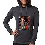 MP-ACCOLADE-Catahoula1 Womens Hooded Shirt