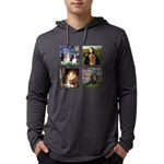 T-MPDogs 4 - Cavaliers-clear Mens Hooded Shirt