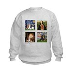 T-MPDogs 4 - Cavaliers-clear Kids Sweatshirt