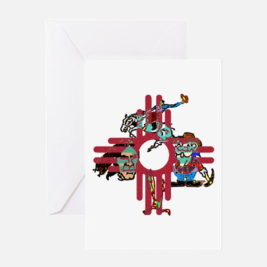 New Mexico - Greeting Card