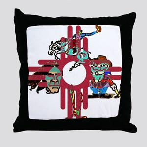 New Mexico - Throw Pillow