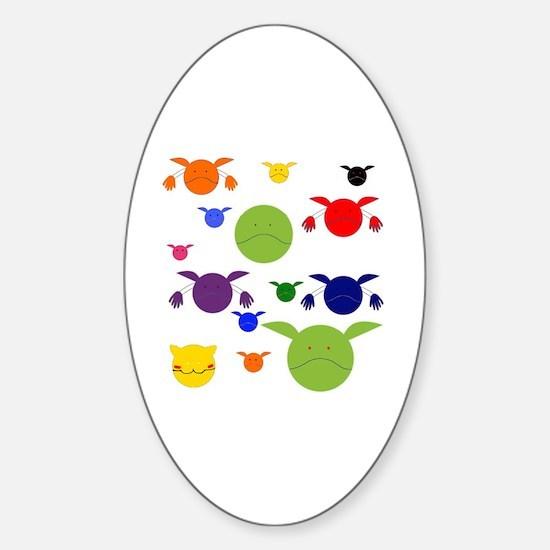 Funny Haro Sticker (Oval)