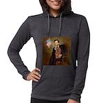 MP-LINCOLN-Cav-Ruby7 Womens Hooded Shirt
