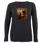 MP-LINCOLN-Cav-Ruby7 Plus Size Long Sleeve Tee