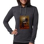 TILE-Lincoln-Cav-Blk-Tan Womens Hooded Shirt