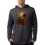 TILE-Lincoln-Cav-Blk-Tan Mens Hooded Shirt