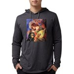 TILE-Angel3-Cav-Blk-Tan Mens Hooded Shirt