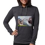 CREATION-Cav2B Womens Hooded Shirt
