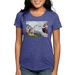 CREATION-Cav2B Womens Tri-blend T-Shirt