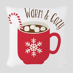 Warm & Cozy Woven Throw Pillow