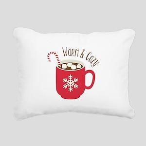 Warm & Cozy Rectangular Canvas Pillow