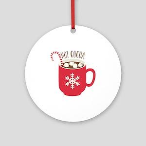 Hot Cocoa Round Ornament