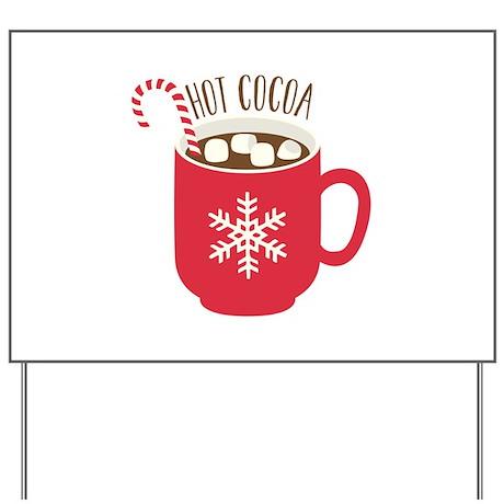 Hot Cocoa Yard Sign
