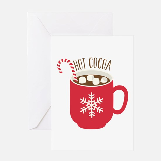 Hot  Cocoa Greeting Cards