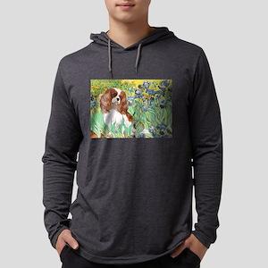 3-MP-IRISES-Cav2B Mens Hooded Shirt