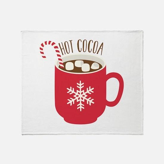 Hot Cocoa Throw Blanket