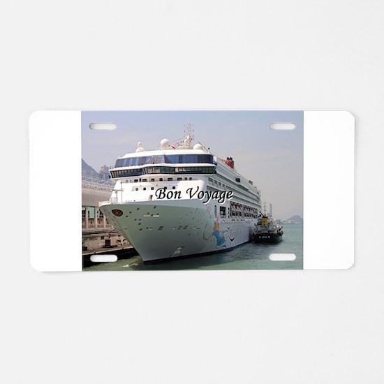 Bon Voyage: Superstar Virgo Aluminum License Plate