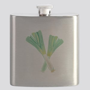 Green Onions Flask