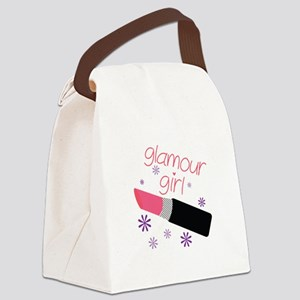 Glamour Girl Canvas Lunch Bag