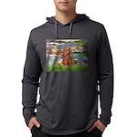 3-MP-LILIES2-Cav-Ruby7 Mens Hooded Shirt