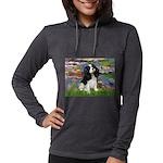 LILIES2-Cav-Tri52  Womens Hooded Shirt