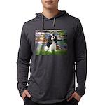 LILIES2-Cav-Tri52  Mens Hooded Shirt
