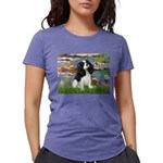 LILIES2-Cav-Tri52  Womens Tri-blend T-Shirt