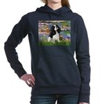 LILIES2-Cav-Tri52  Women's Hooded Sweatshirt