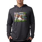 3-MP-LILIES 2-CAV2B Mens Hooded Shirt