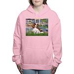 3-MP-LILIES 2-CAV2B Women's Hooded Sweatshirt