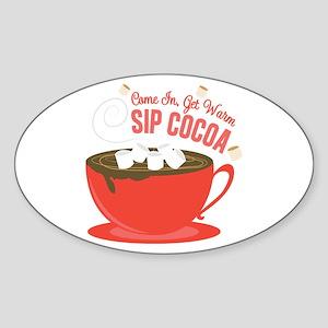 Sip Cocoa Sticker