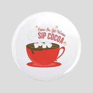 Sip Cocoa Button
