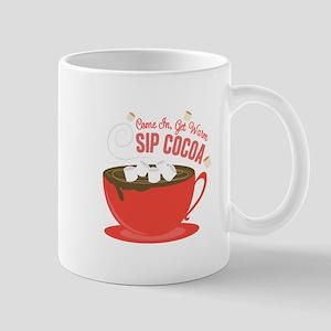 Sip Cocoa Mugs