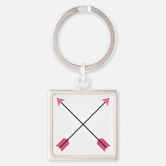 Crossed Arrows Keychains