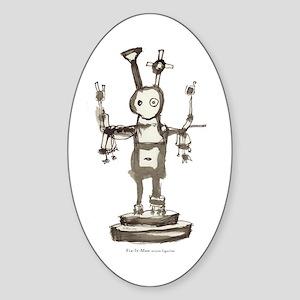 """""""Fix-It-Man action figurine"""" sticker"""