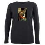ORN-Oval-Madonna-Cav-Tri5 Plus Size Long Sleev