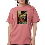 TILE-MadonnaCav-Blk-Tan Womens Comfort Colors