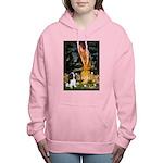 MIDEVE-Cav-Tri62 Women's Hooded Sweatshirt