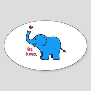 be kind elephant Sticker