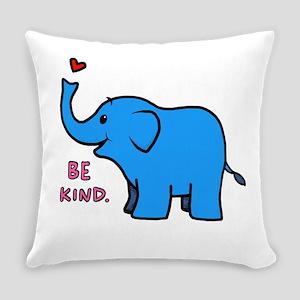 be kind elephant Everyday Pillow